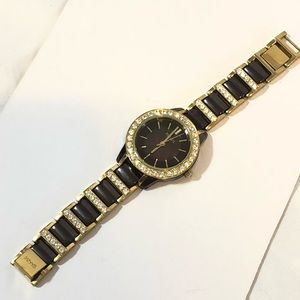 Fossil Accessories - Fossil Enameled Watch With Swarovski Crystals